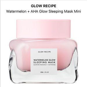 Glow Recipe watermelon AHA glow sleeping mask mini